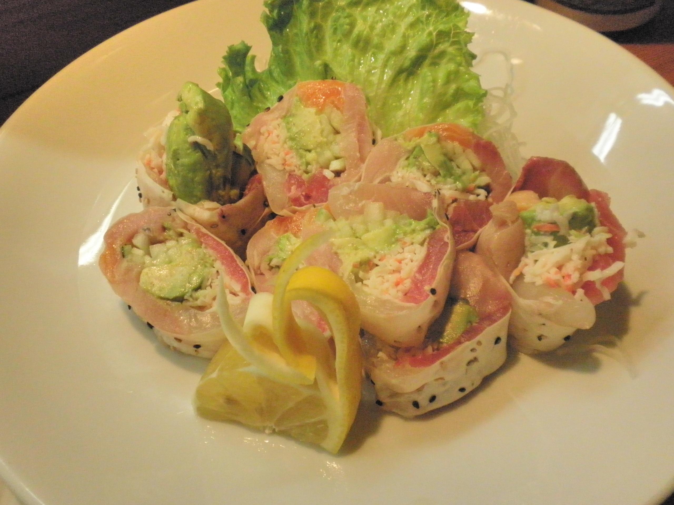 *Sashimi Roll*